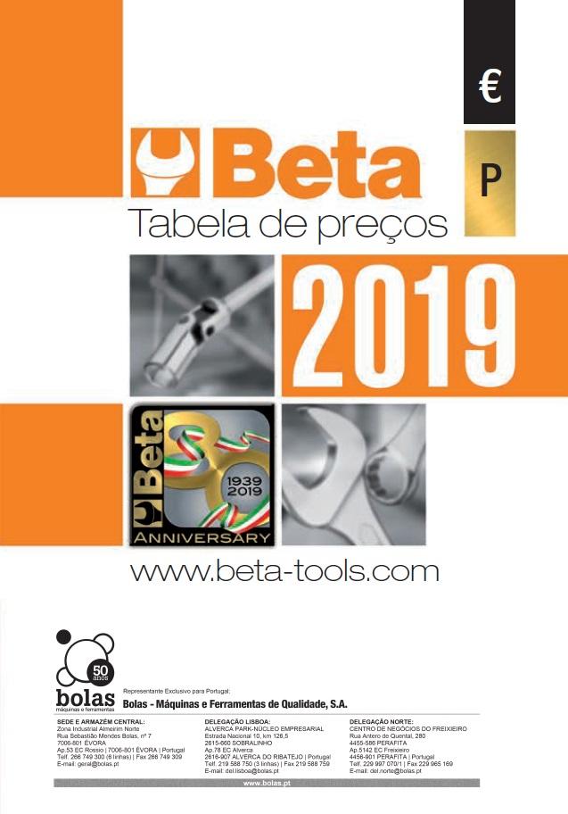 BETA tabela 2019 parte1